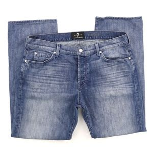 7 For All Mankind Standard Luxe Jeans 36 X 30